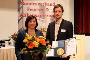Die Preisträger Sarah Hutt und Andreas Meisel